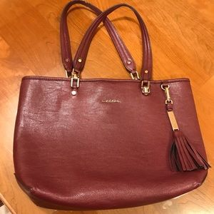 Calvin Klein plum purse